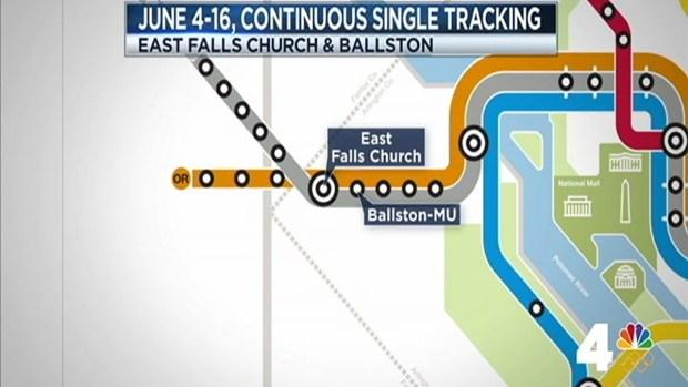 [DC] Massive Metro Maintenance Starts June 4