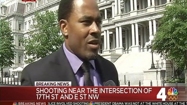 Actor Lamman Rucker Witnessed Shooting Near White House