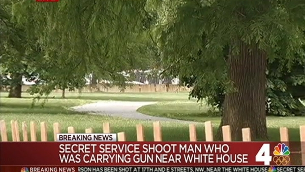 Shooting Near White House; Suspect in Critical Condition