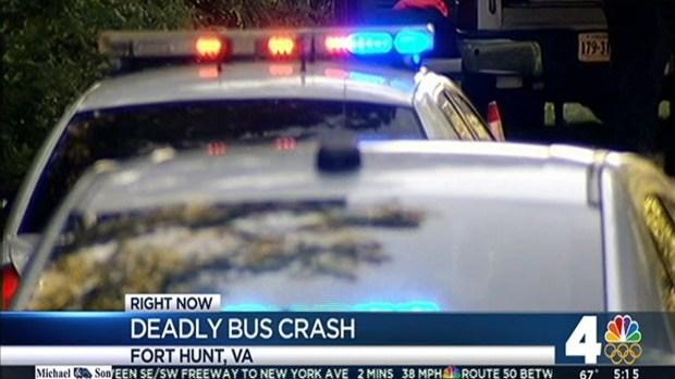 [DC] 1 Dead, 15 Injured After Shuttle Bus Overturns
