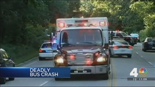 Good Samaritans Lifted Bus Off GW Parkway Crash Victims