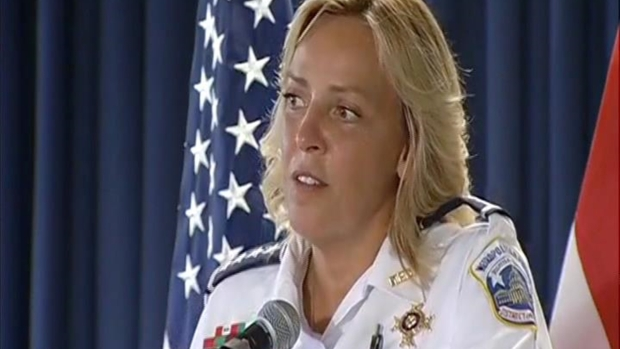 Police Chief Cathy Lanier Announces She's Leaving Her Post
