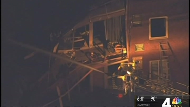 [DC] Natural Gas Caused Silver Spring Apartment Explosion