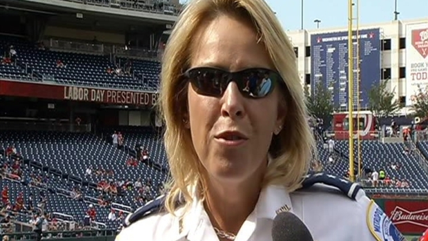 [DC] DC Police Chief Cathy Lanier Honored at Nats Game