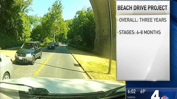 Multi-Year Construction Project Shuts Down Beach Drive
