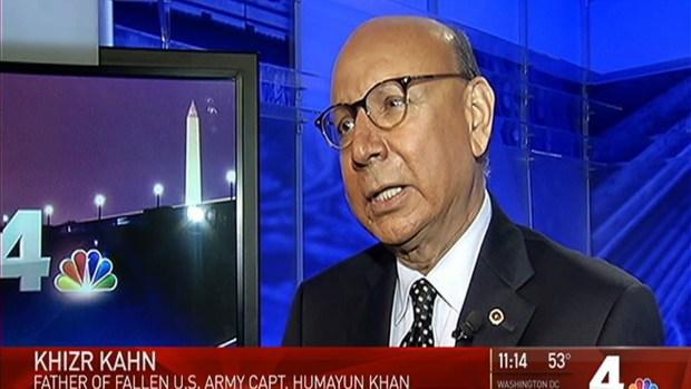 [DC] Khan Family Responds to Debate Mention of Fallen Son