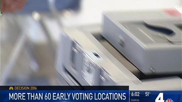 [DC] Early Voting Begins in Maryland