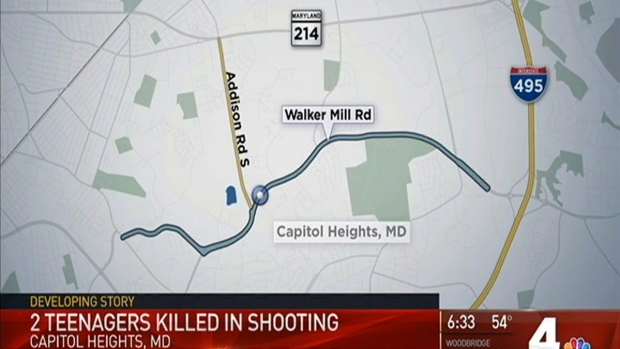 Police Seek Shooter in Slayings of 14- and 18-Year-Olds