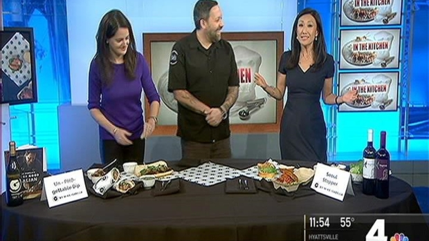 News4's Eun Yang Competing in Sandwich Contest