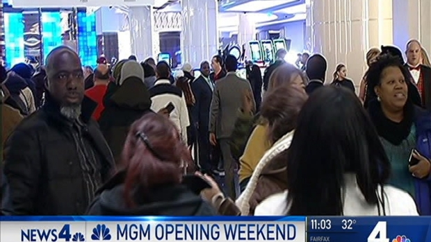 [DC] MGM National Harbor Sees Big Traffic Difference on Day 2