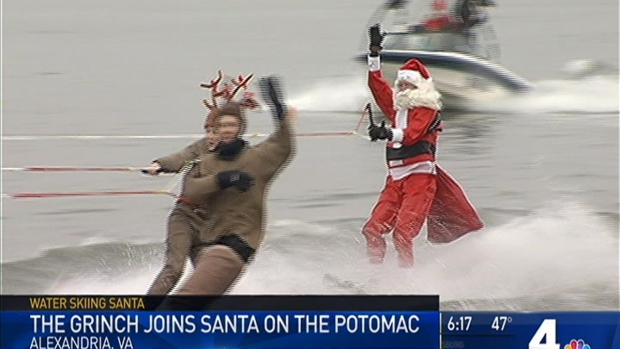 [DC] Grinch Joins Santa on the Potomac River