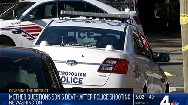[DC] Man Dead After D.C. Police Shooting
