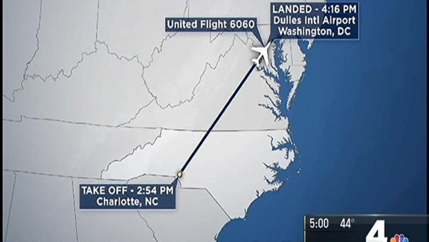 [DC] Baggage Handler Spends Charlotte-to-Dulles Flight in Cargo Hold
