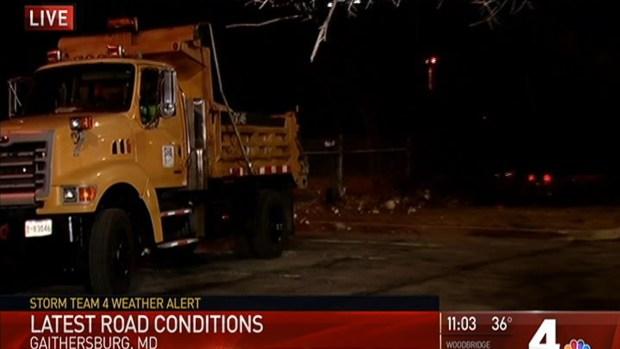 Crews Continue to Prep Roads for Light Snow