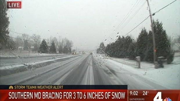 [DC] Snow Creates Dangerous Driving Conditions