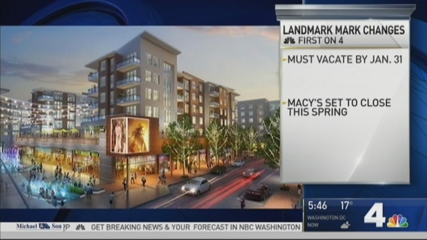 [DC] Store Owners Say They've Been Asked to Vacate Landmark Mall