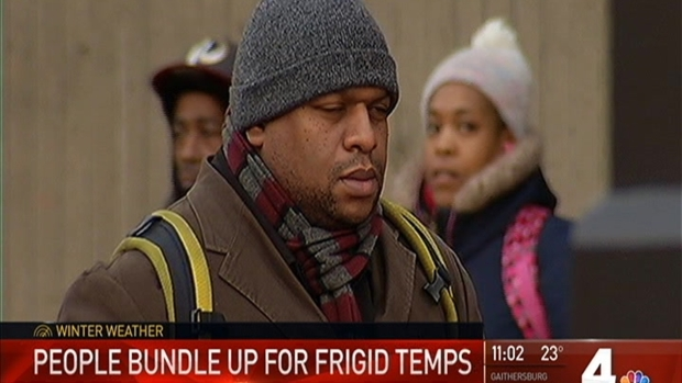 [DC] Brrr! Single Digit Wind Chills Leave DC Shivering