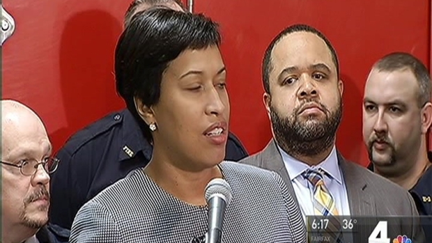 [DC] DC Mayor Defends First Responders Against Metro