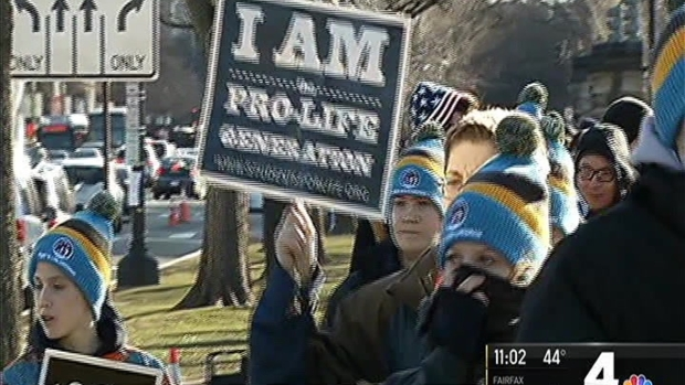 Thousands Converge for March for Life