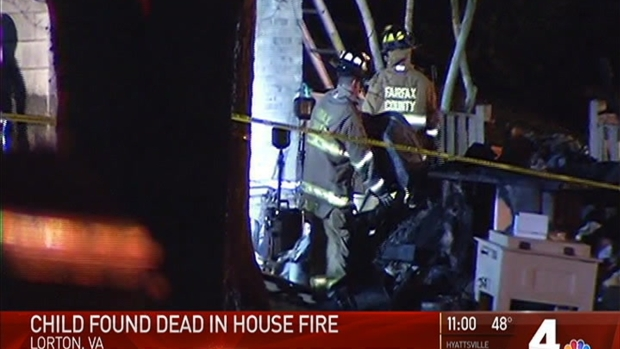 Child Found Dead After Virginia House Fire