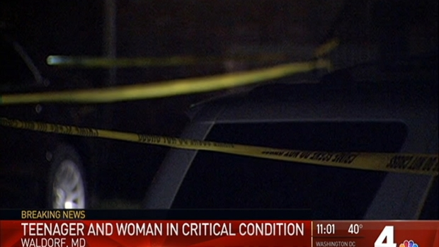Girl and Man Killed, 2 Others Injured in Waldorf Shooting
