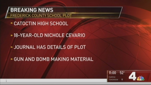 [DC] Police: High School Girl Planned School Shooting in Maryland