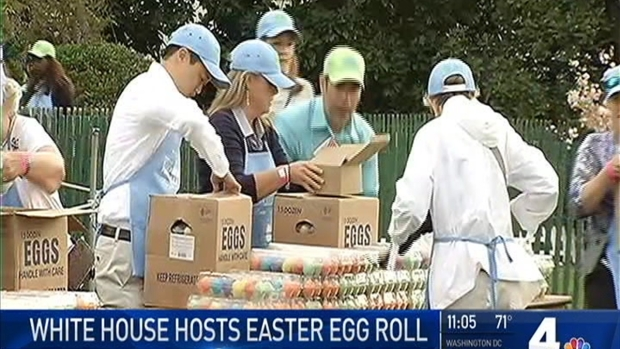 [DC] Trumps Hold Their 1st Easter Egg Roll at White House