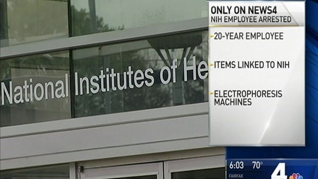 Employee Accused of Selling NIH Medical Research Equipment