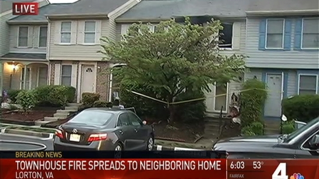 [DC] At Least 1 Family Displaced After Lorton Fire