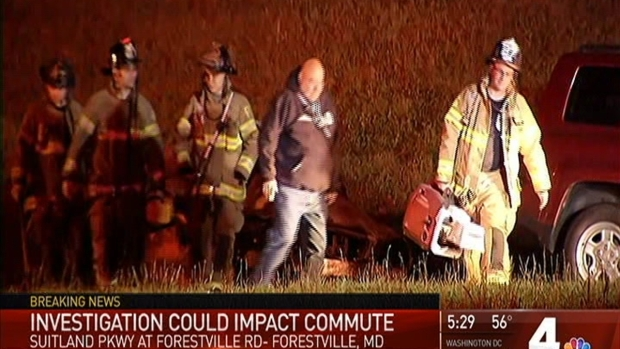 [DC] 3 Dead, 1 Injured in Fiery Crash on Suitland Parkway