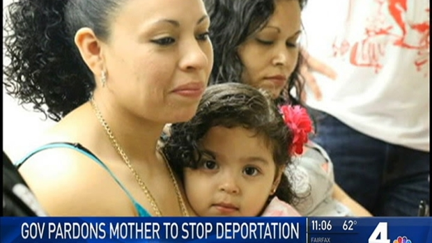 [DC] Virginia Governor Pardons Mother Detained by Immigration Officials