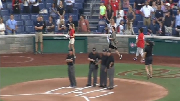 Raw Video: Congressional Baseball Game