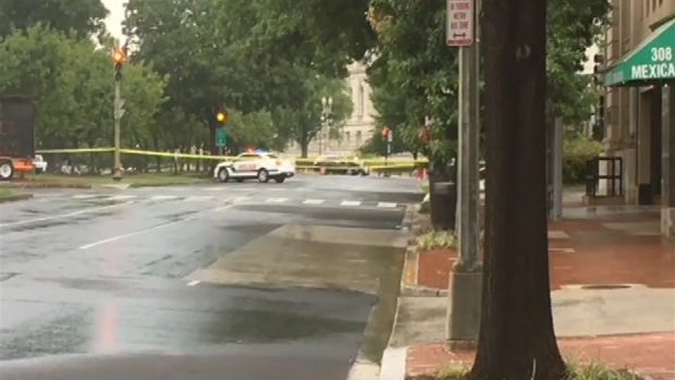 [DC] RAW VIDEO: Police 'Disrupt' Trunk of Suspicious Car With Explosion