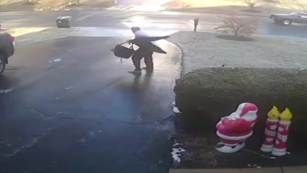 [DC ONLY! WRC-only Licence] WATCH: Man Slips All the Way Down Driveway in Black Ice Viral Video