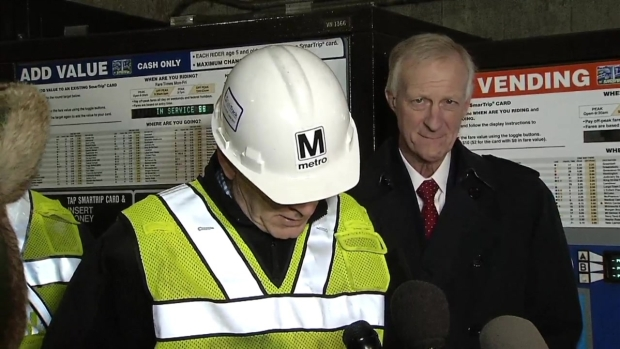 RAW VIDEO: Metro GM Speaks About Derailment, Expected Delays