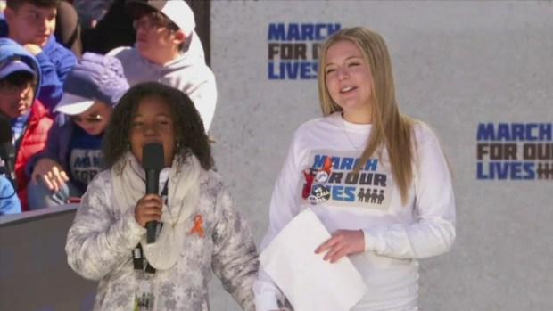Dr. King's Granddaugher Shares Her Dream for a Gun-Free World