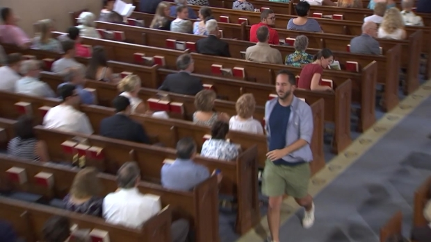 [DC] 'Shame on You!' Outburst in Church as Cardinal Wuerl Asks Parishioners to Keep Pope Francis in Their Prayers