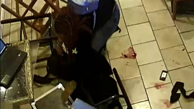 Raw Video: Footage Shows Shooting Inside DC Restaurant