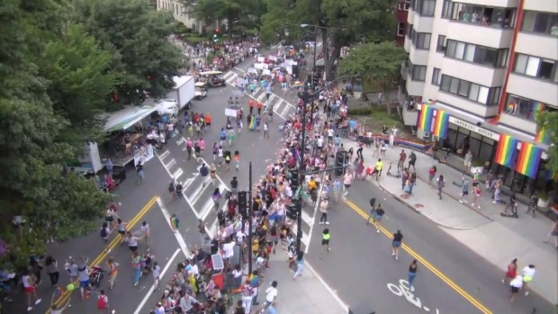 Raw Video: Panic at Pride After Mistaken Report of Shooter