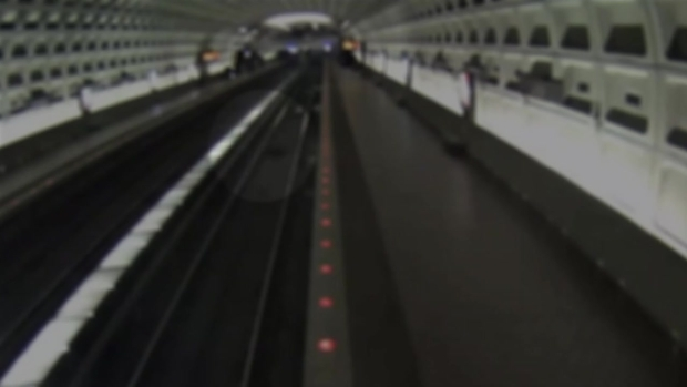 [DC] Surveillance Video Shows Man on Metro Tracks