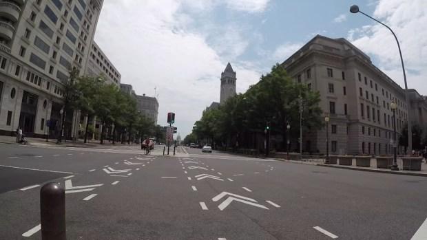 Ride Along With an E-Scooter Down Pennsylvania Avenue