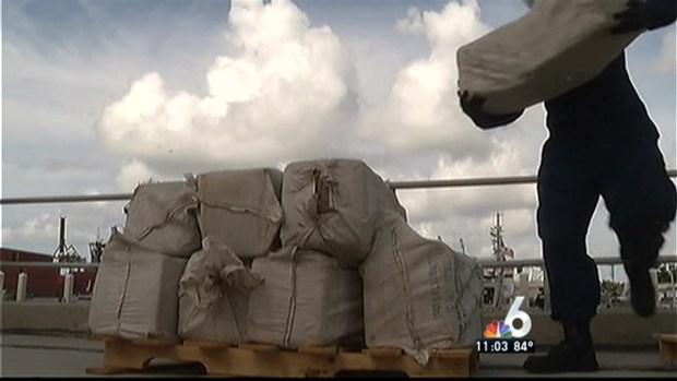[MI] Coast Guard Offloads $1.9 MIllion in Marijuana in Miami Beach