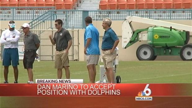 [MI] Dan Marino Returning to Miami Dolphins as an Advisor