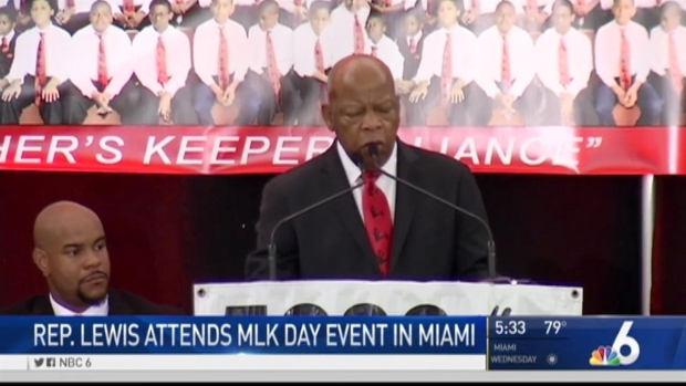[NATL-MI] Rep. John Lewis Speaks at Miami MLK Event