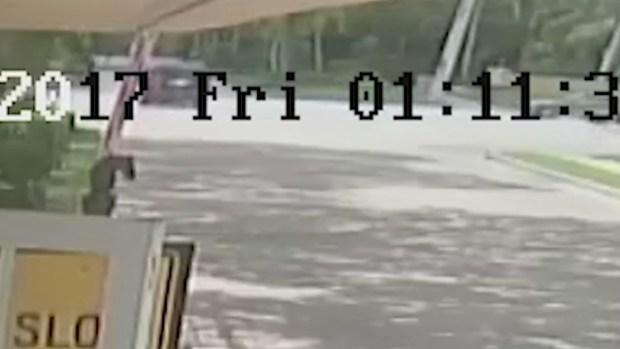 [NATL-MI] Surveillance Video Shows Venus Williams Crash