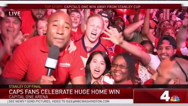 [DC] 'We Want the Cup:' Caps Fans Can't Contain Excitement Over Game 4 Win