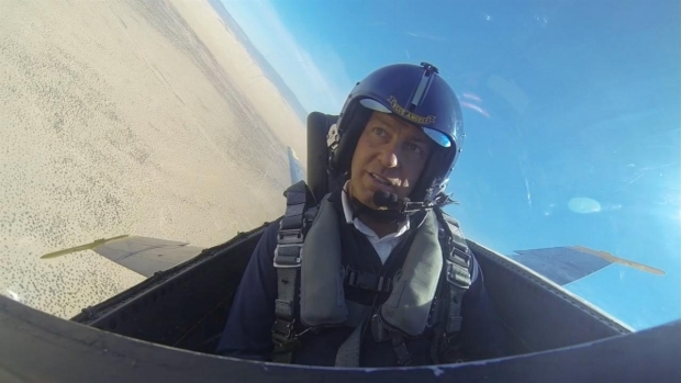 [DGO]Raw Video: Mark Rides with Blue Angels