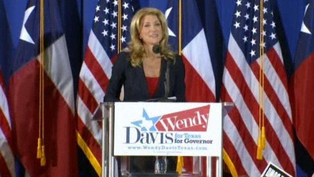[DFW] Sen. Wendy Davis Announces She's Running