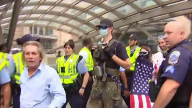 White Nationalists Heckled, Jeered Upon Arrival in DC