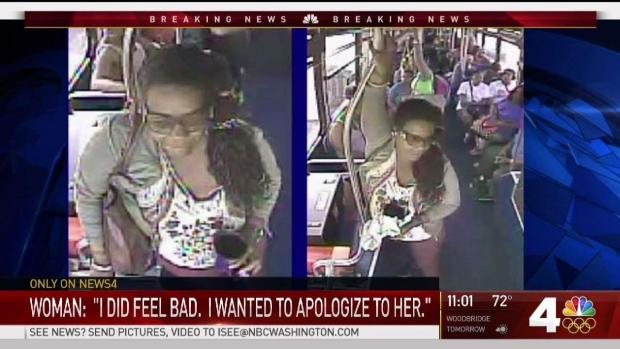 [DC] Woman Tells Why She Threw Cup of Urine on DC Bus Driver